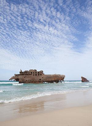 Vakantie Boa Vista (Kaapverdië): scheepswrak