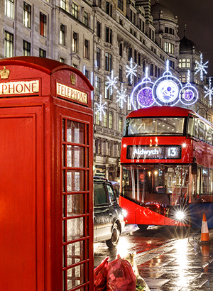 Weg met kerst: stedentrip Londen