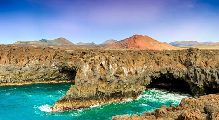 Natuur Lanzarote - Los Hervideros Lanzarote