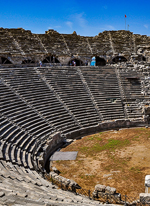 Cultureel Side, Turkije: theater