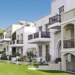 Mooiste stranden Kos, Lambi: Aegean Houses