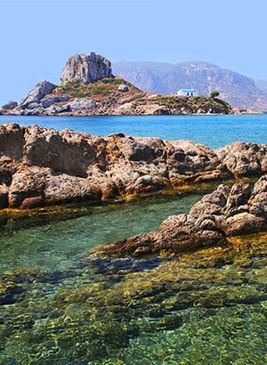 Mooiste stranden Kos: Agios Stefanos