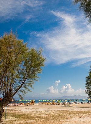 Mooiste stranden Kos: Tigaki