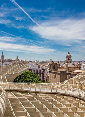 Bezienswaardigheden Sevilla: Metropol Parasol