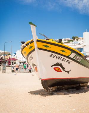 Top 5 badplaatsen Algarve, Carvoeiro