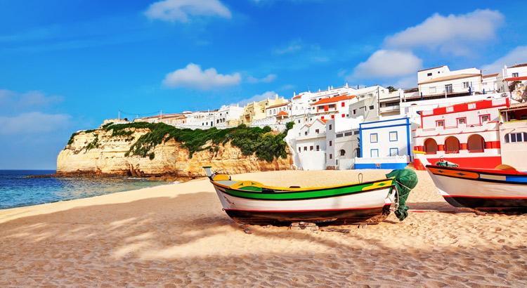 Badplaatsen Algarve