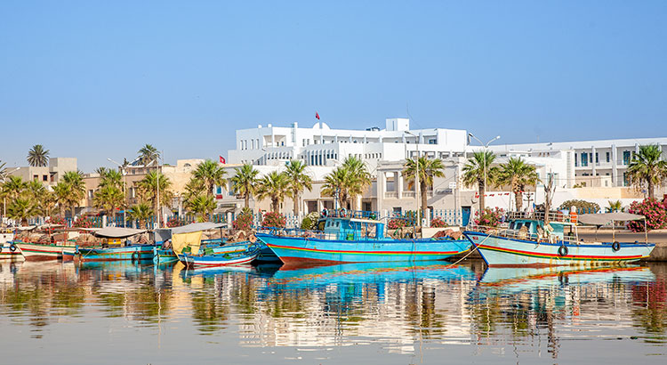 Badplaatsen Tunesie