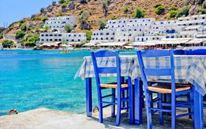 Griekse eilanden Rhodos