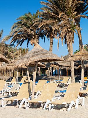 Badplaatsen Tunesie, Midoun