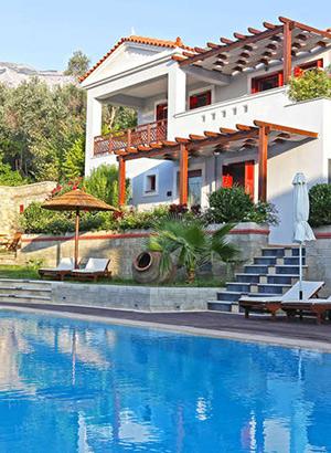 Mooiste stranden Samos: hotels