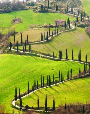Populaire bestemmingen autovakanties, Toscane