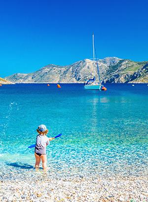 Populaire vakantiebestemmingen met kinderen: Kreta