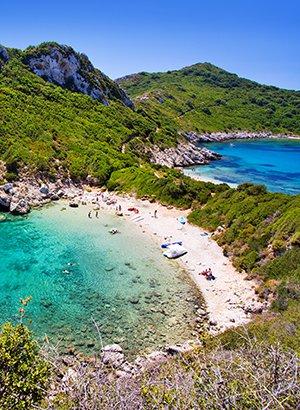 Populairste Griekse eilanden: Corfu