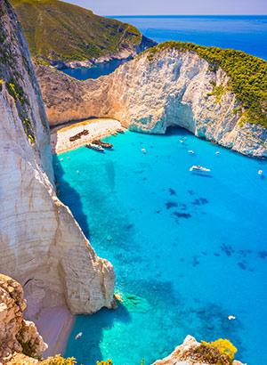 Populairste Griekse eilanden: Zakynthos
