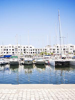 Badplaatsen Tunesie, Port el Kantaoui