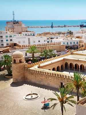 Badplaatsen Tunesie, Sousse