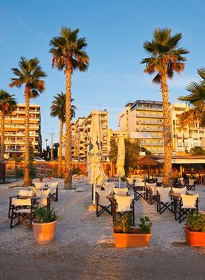 Steden met strand: Athene
