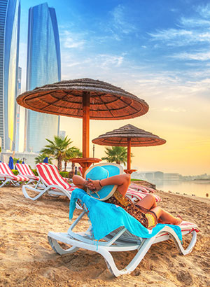 Steden strand: Dubai