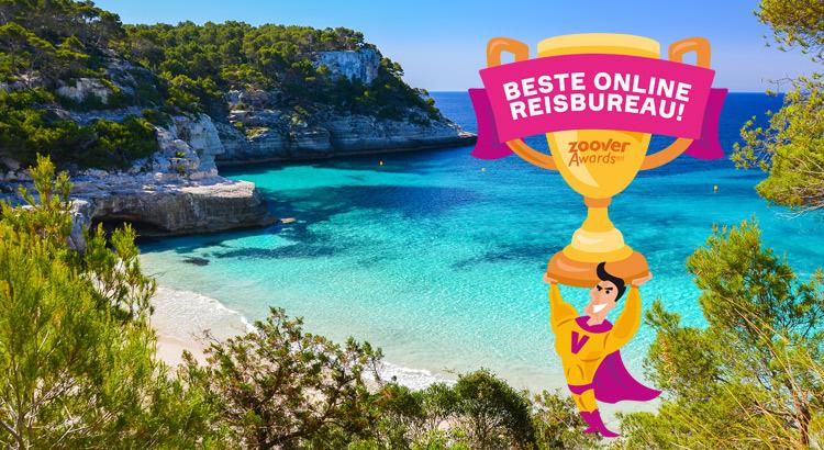 Zoover Awards 2015, beste online reisbureau