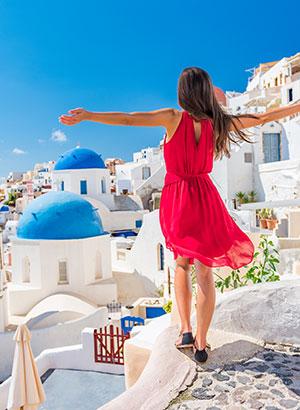 Luxe vakantiebestemmingen zomer: Santorini