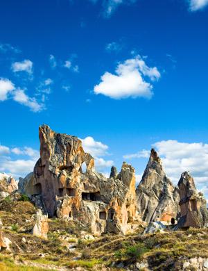 Mooie plekken in Europa: Cappadocië