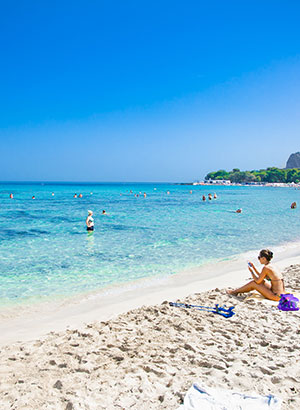 Mooiste stranden Sicilië, Mondello