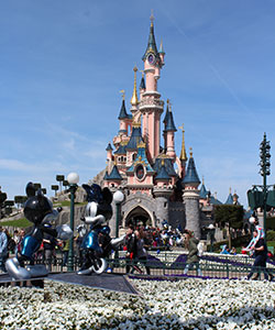 Pretparken Europa, Disneyland Parijs