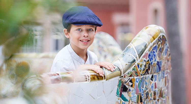 Barcelona met kinderen: Parc Guell