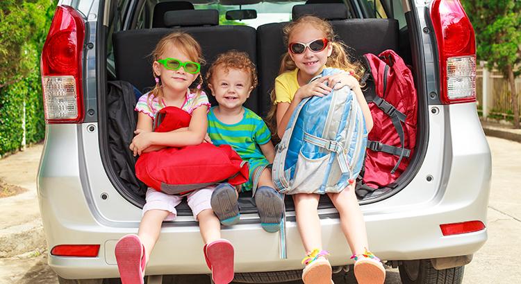 Autovakantie met kinderen, tips voor onderweg