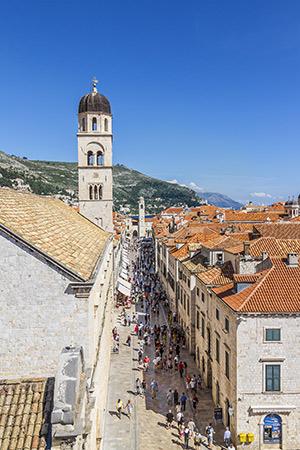 Bezienswaardigheden Dubrovnik: Stradun