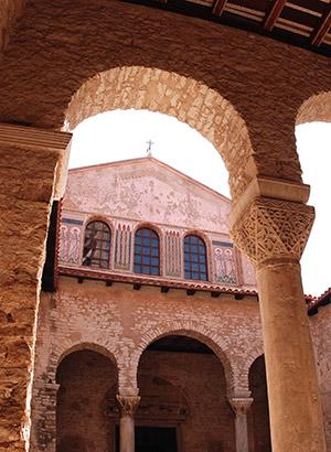 Bezienswaardigheden Istrië: Euphrasius Basiliek