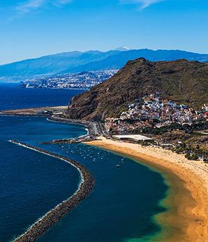 Mooiste stranden Tenerife: Las Teresitas