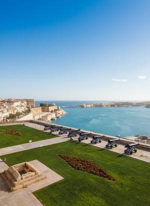 Tuinen in Valletta, Malta