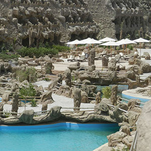 Zon in februari: Egypte, Caves Beach Resort