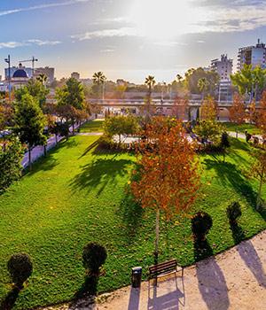 Bezienswaardigheden Valencia: Turia