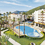 Badplaatsen Turkije: Marmaris, Hotel Ideal Prime Beach