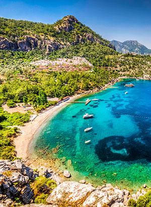 Leukste badplaatsen Turkije: Marmaris