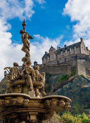 Bezienswaardigheden Edinburgh: Edinburgh castle