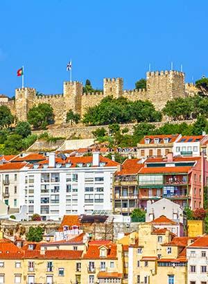 Bezienswaardigheden Lissabon, Sao Jorge Kasteel