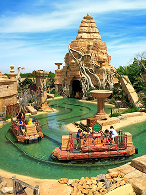PortAventura World in Salou, China
