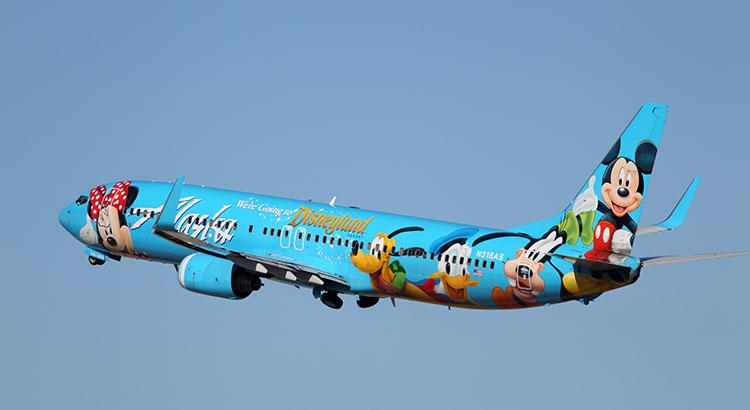 Disneyland 60 jaar: vliegtuig