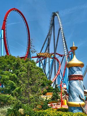 PortAventura World in Salou, Dragon Khan