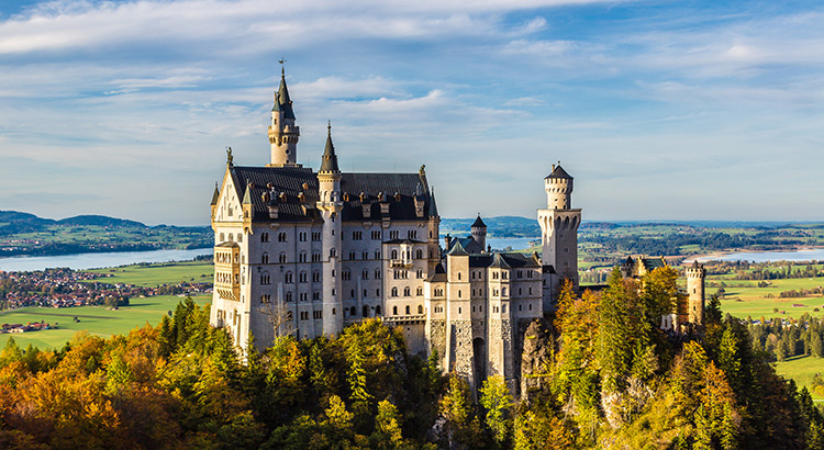 Duitse bestemmingen: Neuschwanstein