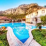 Mooiste stranden Turkije; Iztuzu Beach, Hotel Calypso Beach