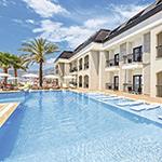 Mooiste stranden Turkije: Kleopatra Beach, Alaaddin Beach Hotel