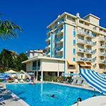 Waterparken Italië: Aqualandia, Hotel Bolivar