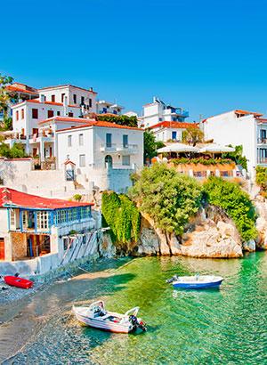 Minder bekende Griekse eilanden: Skiathos