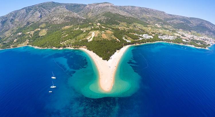 Mooiste Europse stranden: Zlatni Rat