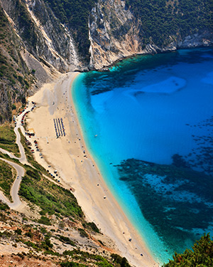 Mooiste Europese stranden: Myrtos Beach