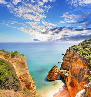 Mooiste Europese stranden: Praia Dona Ana